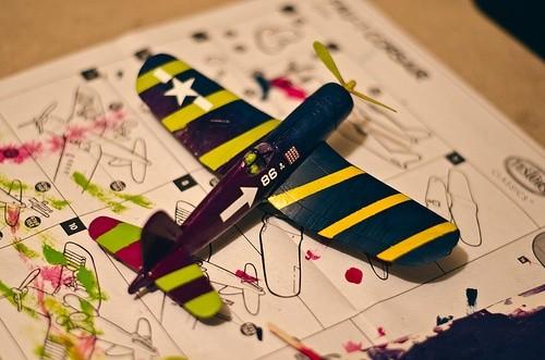 model airplane kit IoT