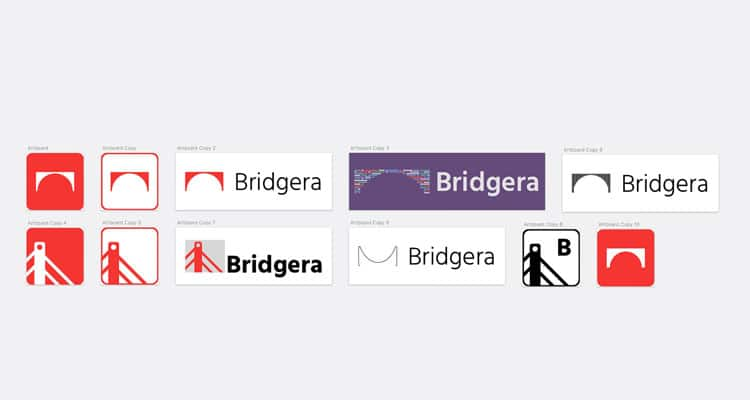 Bridgera Logo Exploration