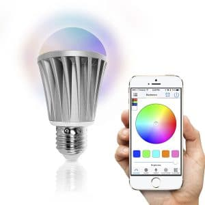 iot smart bulb and app