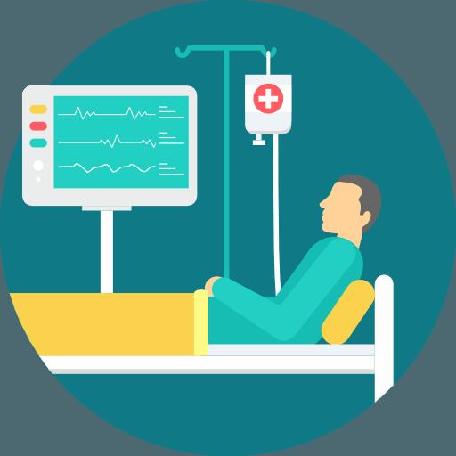 patient icon healthcare iot