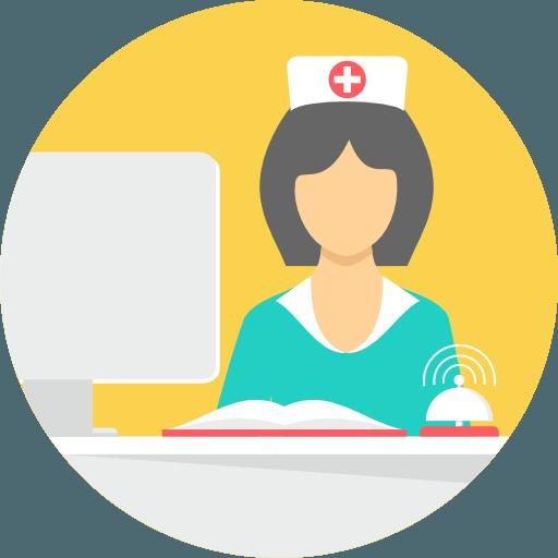 nurse reception staffing healthcare iot