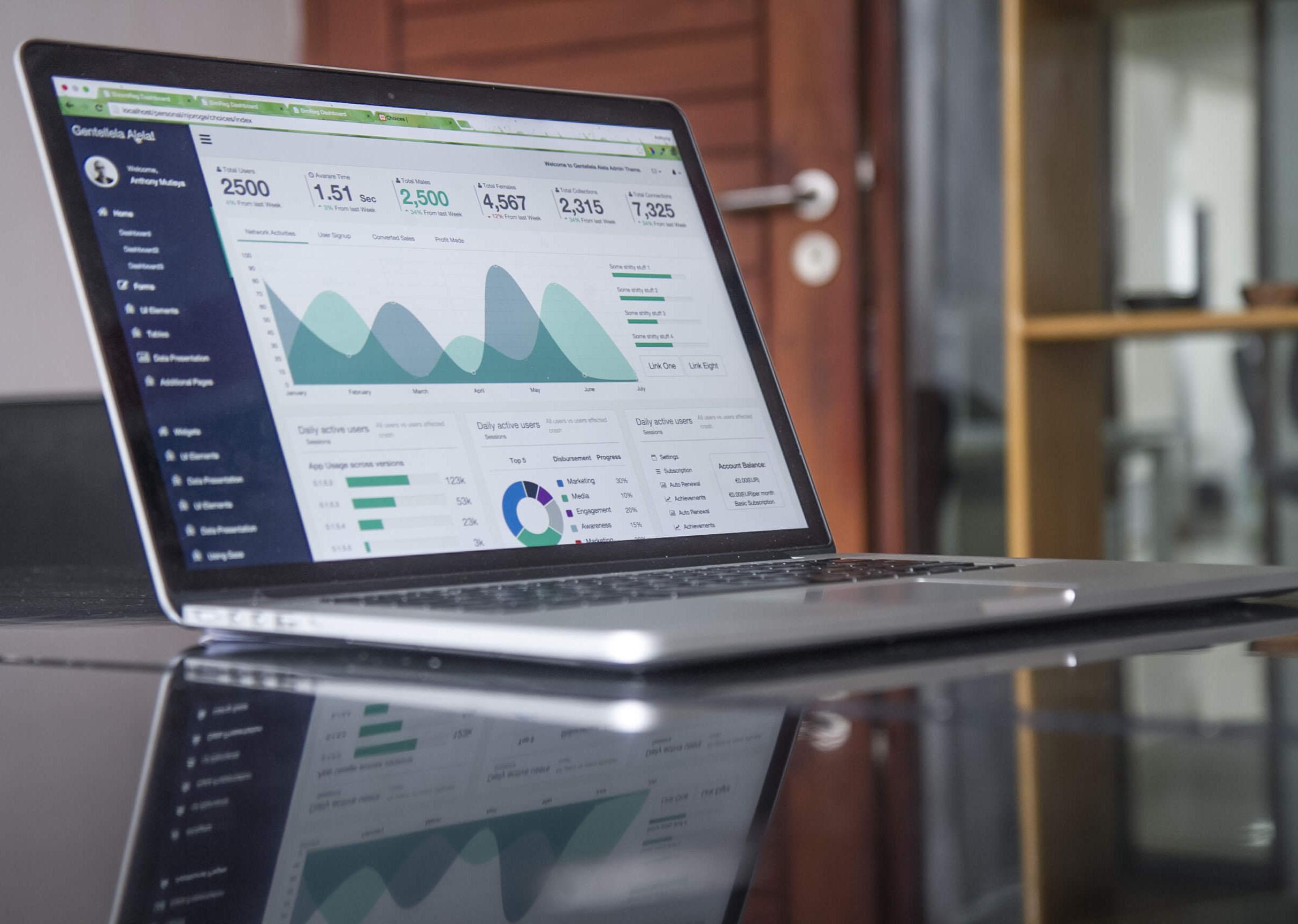 Big Data solutions UI infographics