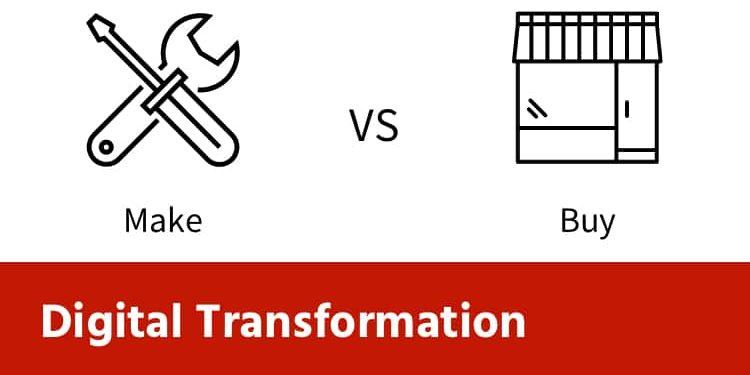 Make or Buy a Digital Transformation