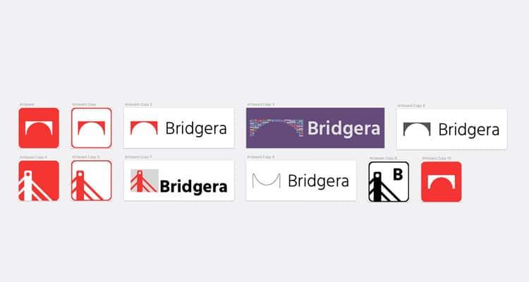 Bridgera Logo Exploration