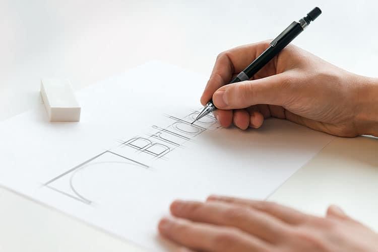 Bridgera Logo Sketch 2