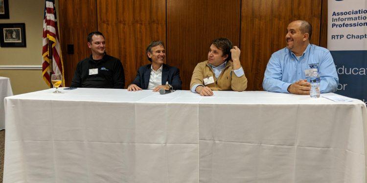 Bridgera on IoT Solution panel at RTP-AITP Chapter Meeting