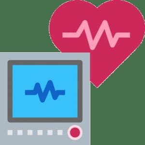 screen heart monitor