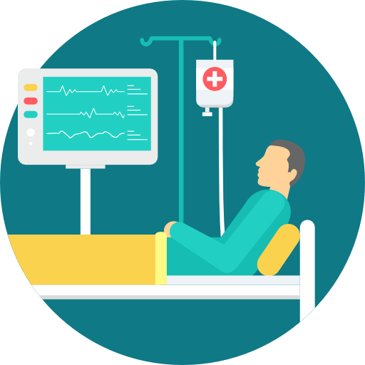 patient icon healthcare iot
