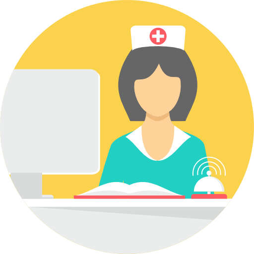 nurse reception staffing healthcare iot