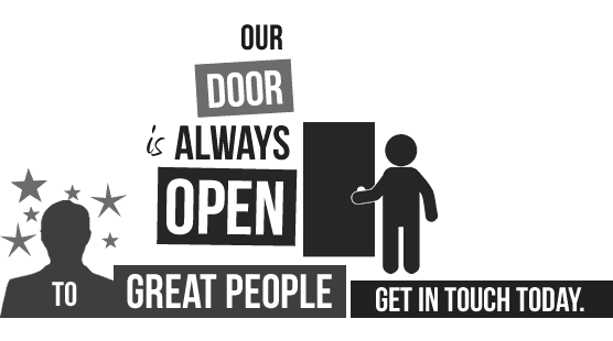 our door is always open