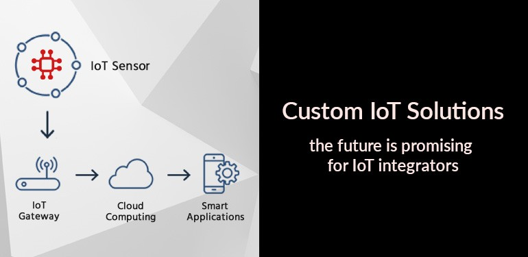 Custom IoT solutions – the future is promising for IoT integrators