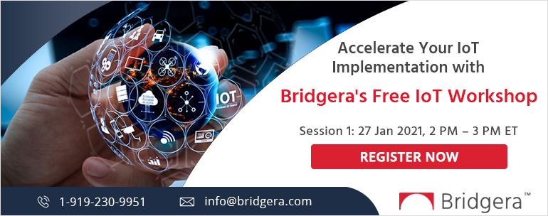 Register for Bridgera's Free IoT Workshop